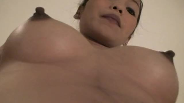 Hot and sexy Filipina in hotel showing her sweet nipples